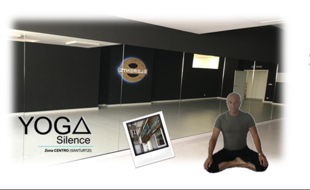 Yoga SIilence llega a Santurtzi.